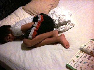 Photo aidan asleep