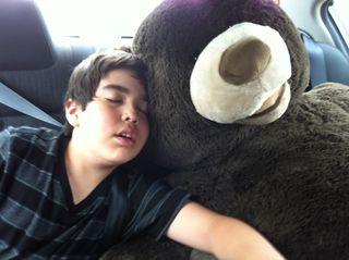 Aidan benny asleep